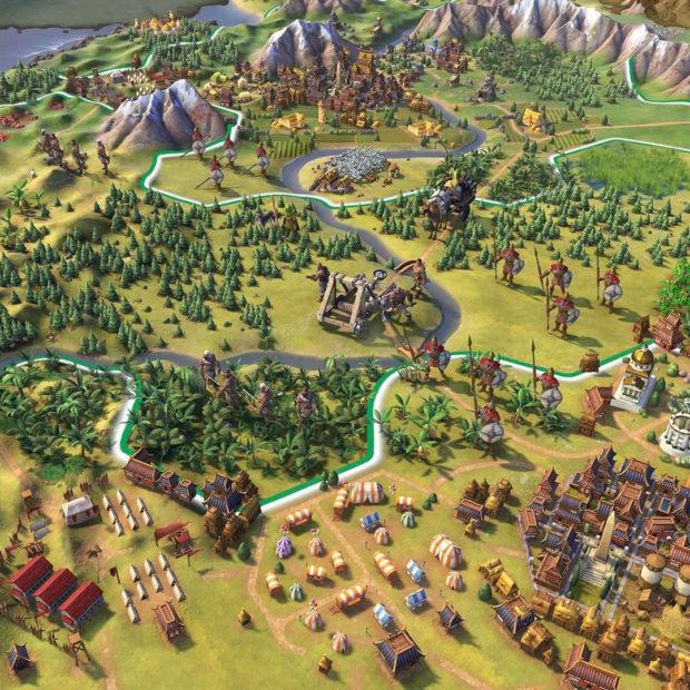 CIVILIZATION VI — система развития городов