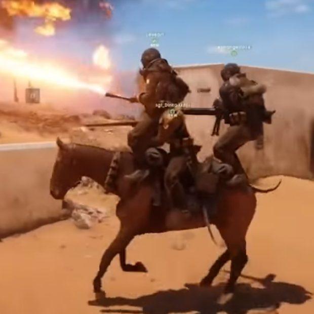 Забористое и смешное видео Battlefield 1