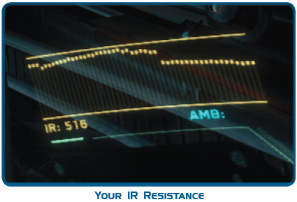 Пример: IR сигнатура вашего судна