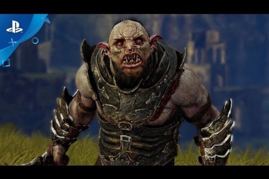 Shadow of Mordor для PS4 Pro в разрешении 4К