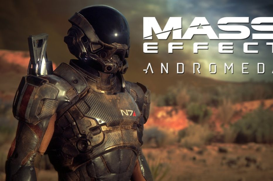 Новое видео Mass Effect Andromeda