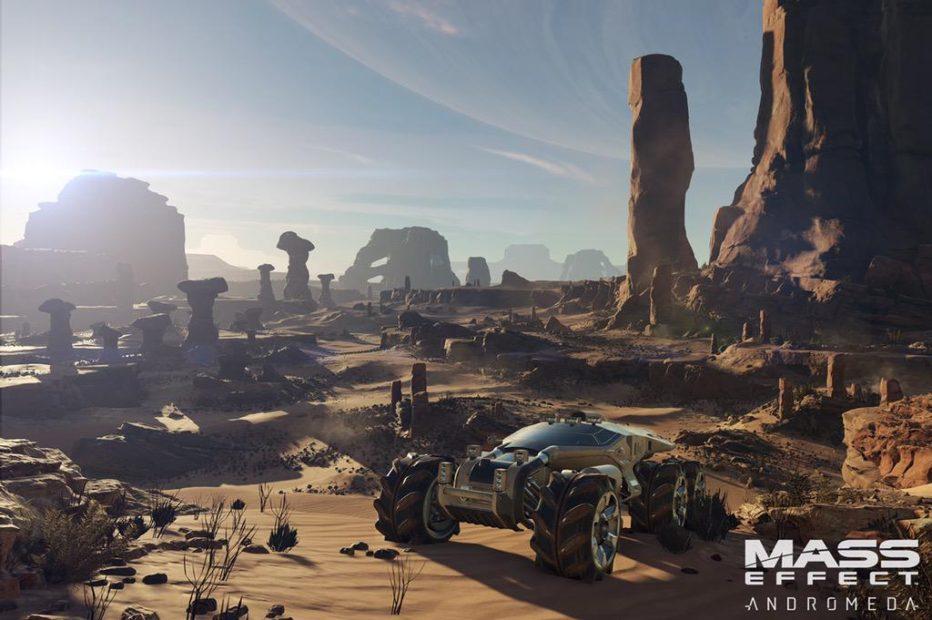 Точная дата геймплея Mass Effect Andromeda
