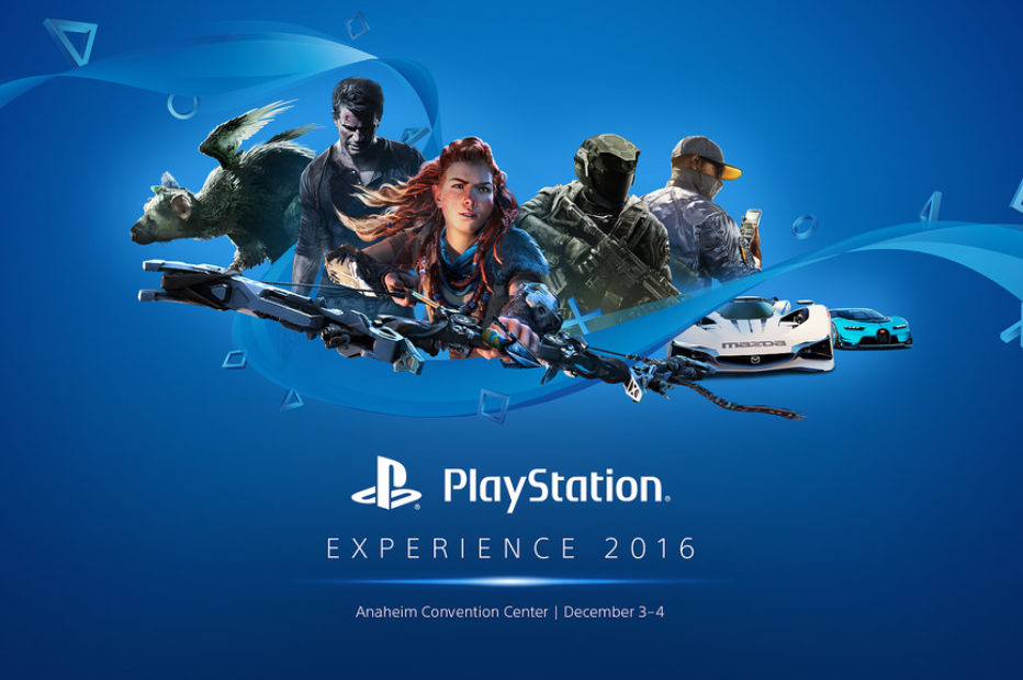 Playstation Experience 2016 всё трейлеры