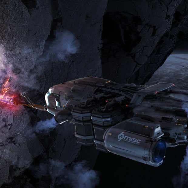 Misc Prospector — судно для шахтёров