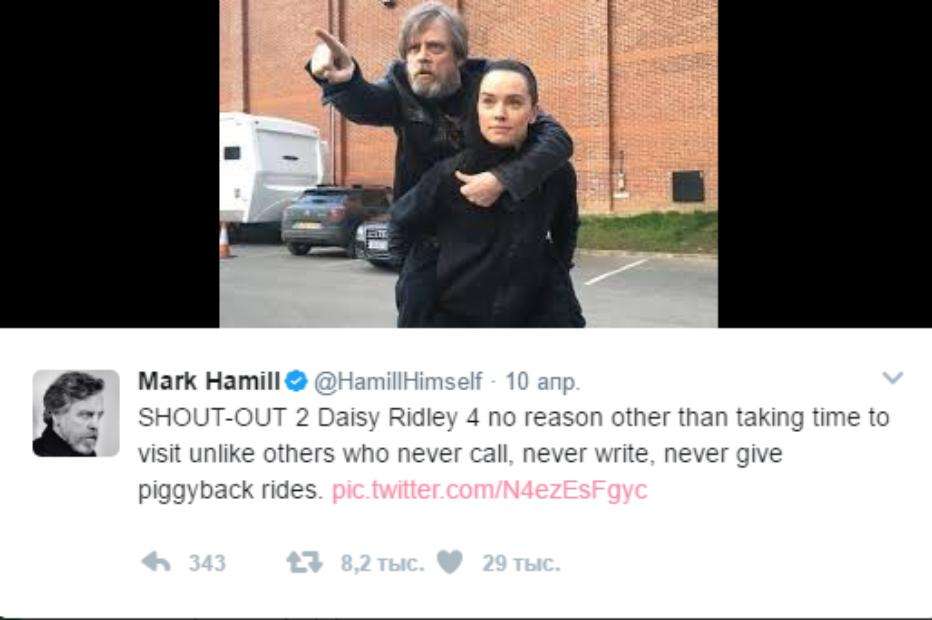 Забавные новости Star Wars