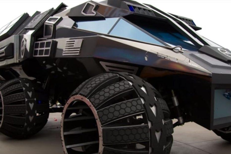 Прототип пилотируемого марсианского вездехода