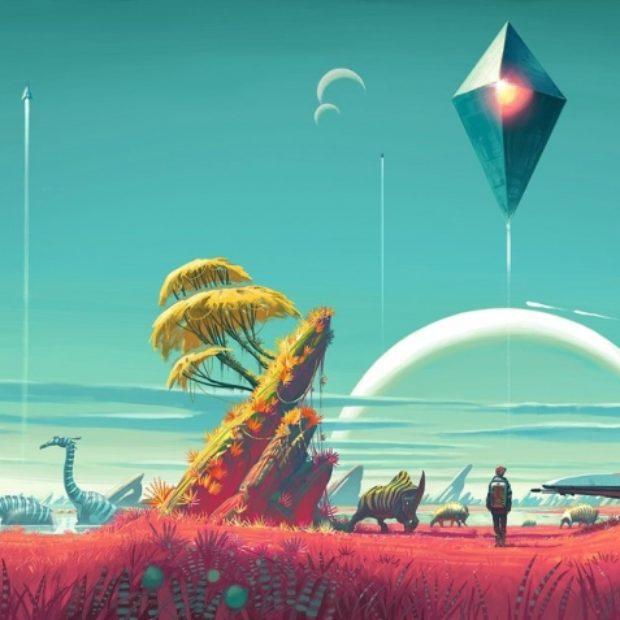 Автор мода для No Man's Sky добавил в игру миры, показанные на E3