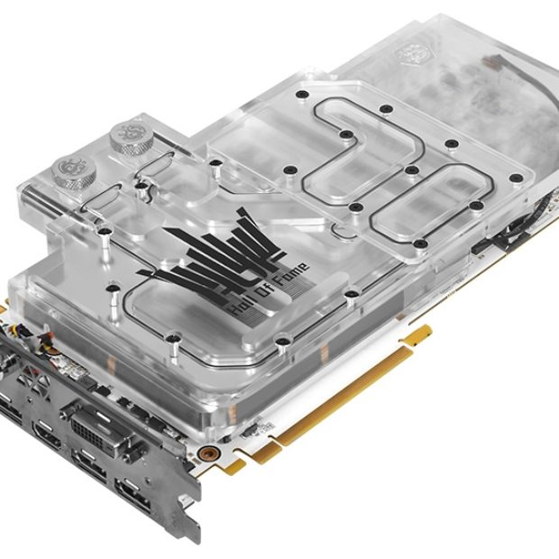 GeForce GTX 1080 Ti HOF Watercooled — новый флагман KFA2