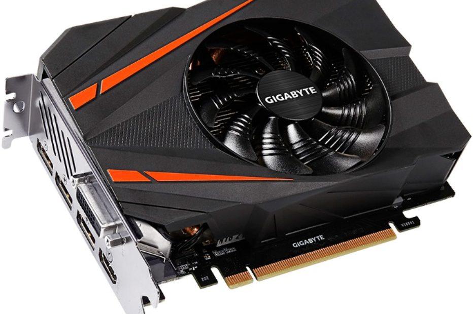Gigabyte представила компактную видеокарту GeForce GTX 1080 Mini ITX