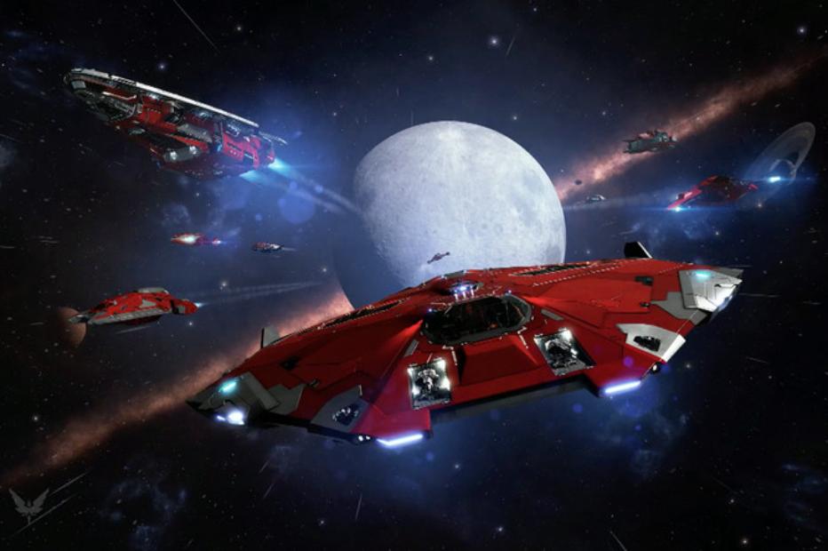 Пилоты Elite: Dangerous объединились ради спасения игрока, застрявшего в далёком космосе