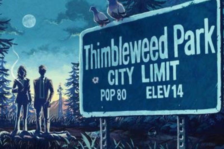 Thimbleweed Park — гениальный квест от создателей The Secret of Monkey Island
