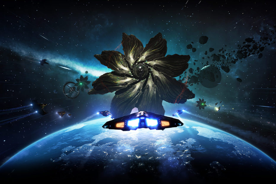 Elite Dangerous: Звёздный Атлас от GIF