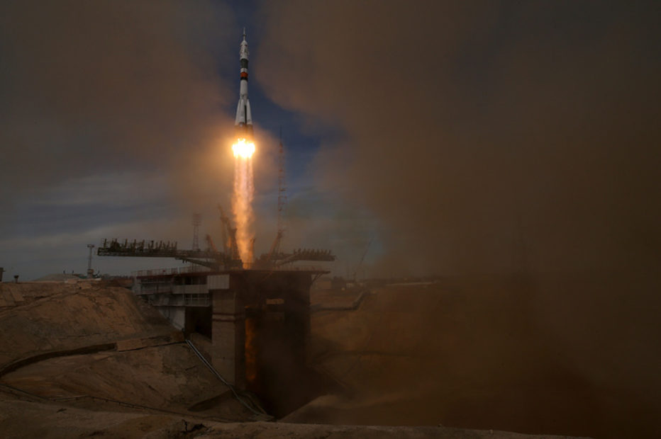 Ракета «Союз-2.1а» с кораблем «Прогресс МС-07» стартовала с Байконура