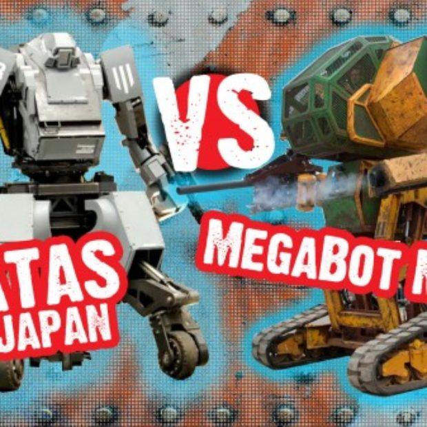 США против Японии: состоялась первая в мире битва боевых человекоподобных роботов (видео)