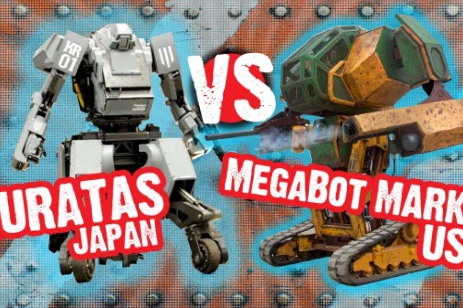 Настоящий Versus Battle: гигантские боевые роботы впервые в истории сразятся в прямом эфире