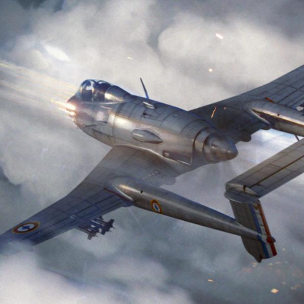 Французские самолёты в обновлении 1.73