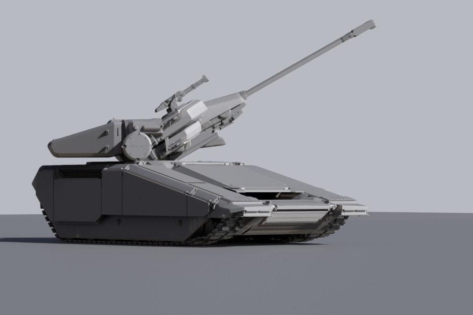 Концепты танка NOVA