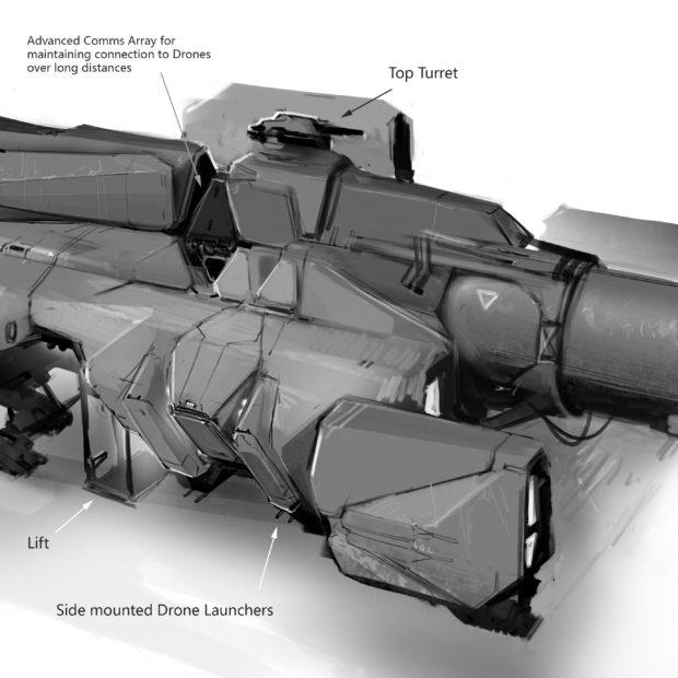 Концепт арты от разработчиков Aegis Vulcan