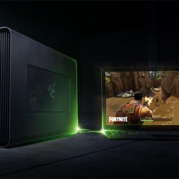 Бокс для видеокарты Razer Core X позволяет использовать трёхслотовые ускорители