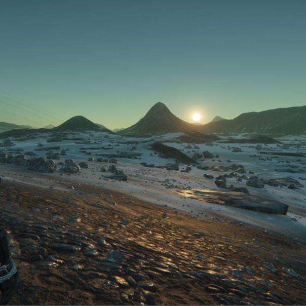Yela, Delamar, окружающая среда и набор скриншотов из других локаций