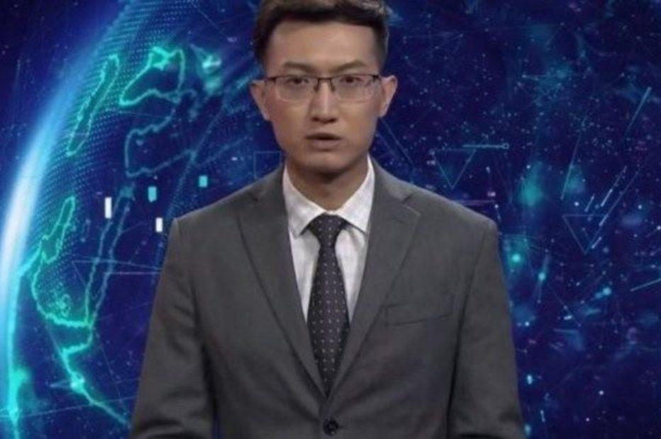 ИИ ведущий новостей