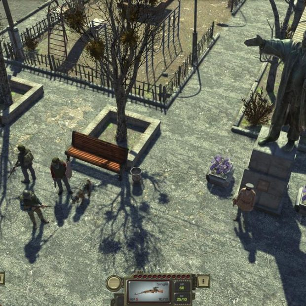 ATOM RPG- советский «Fallout»
