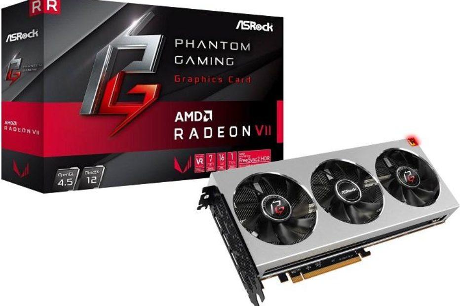 ASRock выпустит Radeon VII Phantom Gaming
