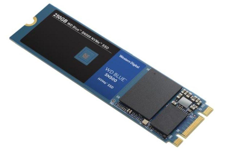 Western Digital выпустила NVMe-накопители WD Blue SN500