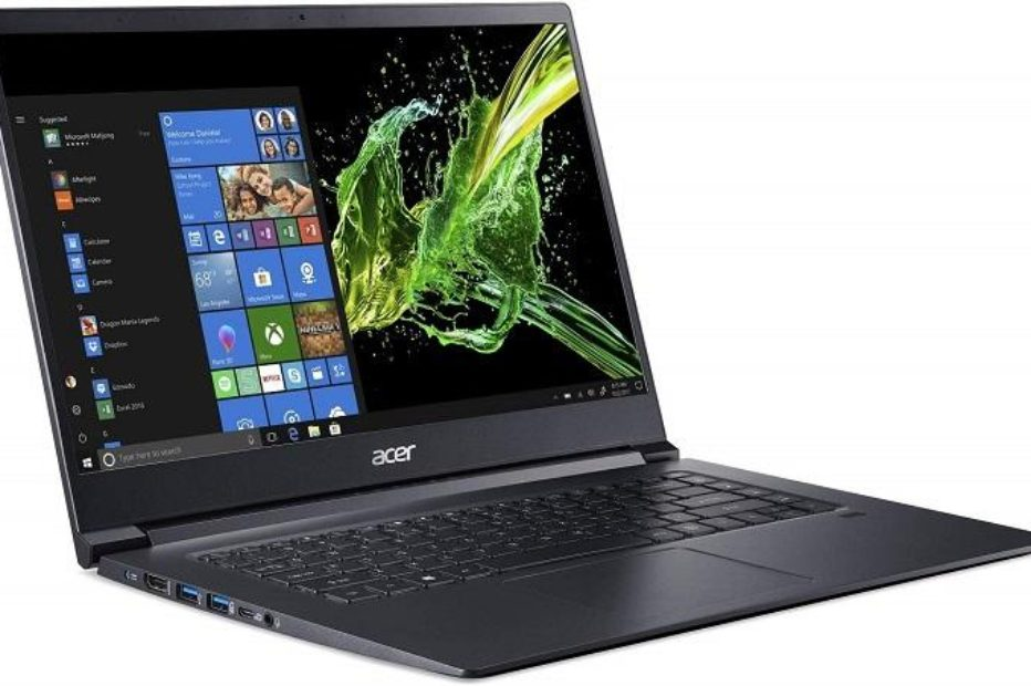 Ноутбук Acer Aspire 7 с процессорами Intel Kaby Lake-G