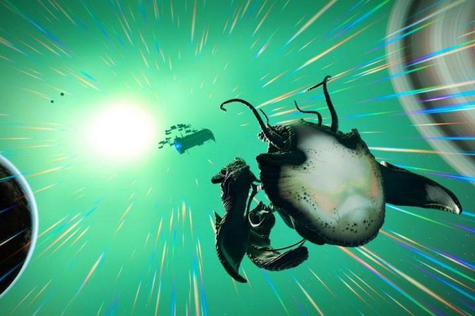 Для No Man's Sky выпустили «живые» корабли