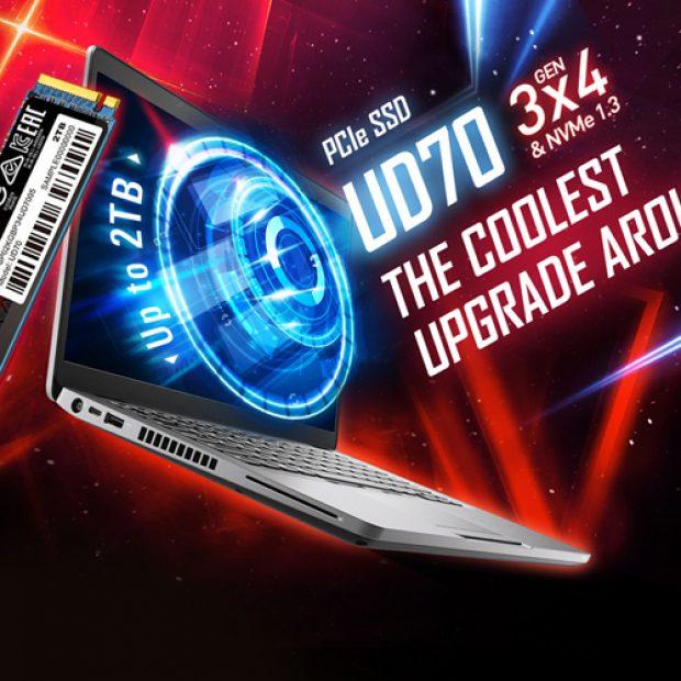 Скорость чтения SSD-накопителей Silicon Power UD70 достигает 3400 Мбайт/с