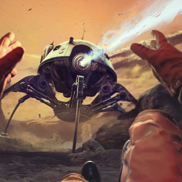 Sci-Fi игра по мотивам Станислава Лема «Непобедимый»